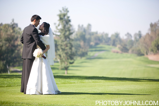 wedding in Pacific Palm golf club
