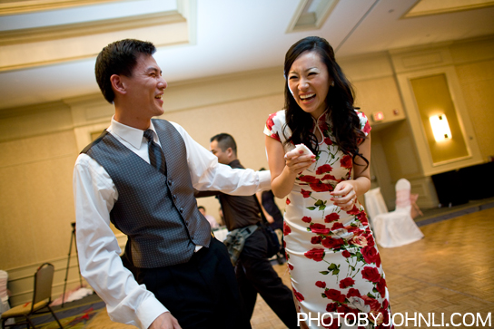 wedding photography in Pacific Palm reception bride and groom