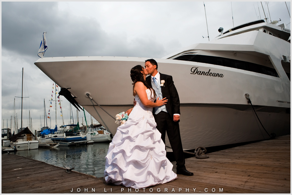 Fantasea Yachts And Yacht Club Wedding Photography Marina Del Rey Jacqueline John John Li Photography