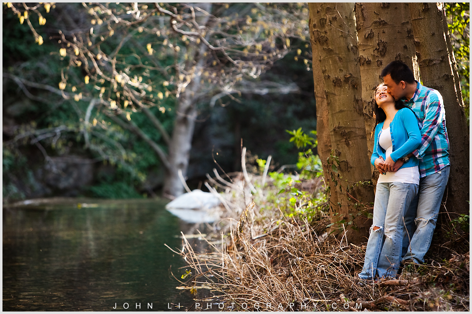 Arcadia wedding photographer engagement pictures hiking theme  river